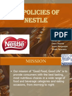 Hr Policies of Nestle