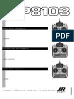 Jr xp 8103 Manual