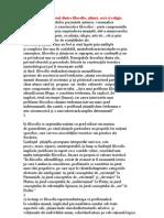 3 Raportul dintre filosofie, ştiinţă, artă şi religie