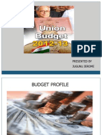 2012-13 Budget Presentation as of 1-4-12 Jugunu