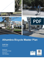 Read the final draft of Alhambra's Bike Master Plan