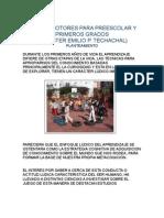 Abastrac Juegos Motores Para Preescolar Emilio Techachal(2)
