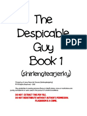 The Despicable Guy Book 1 pdf