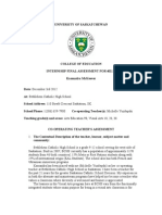 U of S Internship Final Assessment