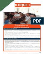Bloque I Psicología II