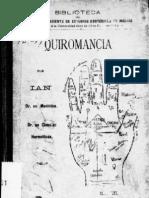 Tratado de Quiromancia