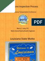 S16 Workzone Inspection Process LTC2013