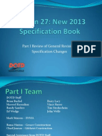 S27_Part 1 Review of General Provisions Specification Changes_LTC2013
