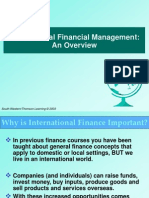International Financial Management- An overview