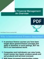 International Financial Management- An overview
