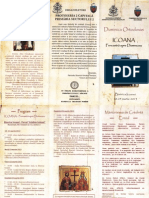 Duminica Ortodoxiei-Icoana Fereastra Spre Dumnezeu18-24.03.2013