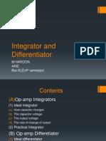 Op Amp Integrator