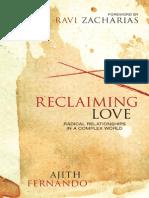 Reclaiming Love by Ajith Fernando