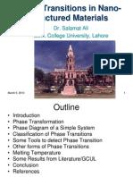 Dr Salamat Ali NCP Phase Transitions Seminar Final