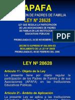 Ley de Apafa