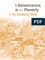 Urban Governance, Voice and Poverty in the Developing World