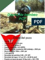 Diseño de bombeo PCP