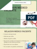 Relacion Medico Paciente- Semiologia-ruben m Mamani Escobar