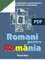 Romani Pentru Romania Carte