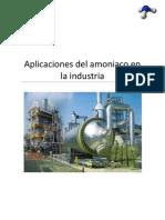 63543866 Aplicaciones Del Amoniaco en La Industria
