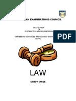 Cape Law Study Guide 1