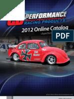 CB Performance 2012 Catalog