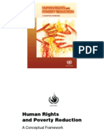 Human Rights and Poverty Reducation