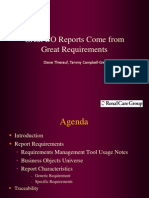 Business Objects Requirements Documentation MSBOUG.ppt