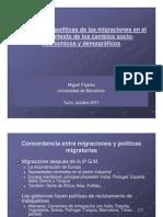 2011 10 Migraciones- Demografia y Politicas Pajares
