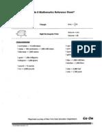 grade 6 mathematics reference sheet