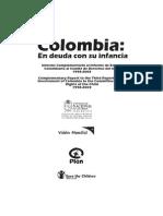Colombia en Deuda Con Su Infancia
