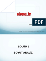 HİDROLİK Ders Notları-1 pdf