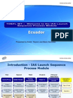 IAS Launch Sequence Process Module
