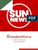 Sun News Response to Interventions CRTC 2012 0687 1