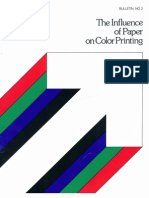 SD Warren Bulletin the Influence of Paper on Color Printing