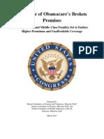 Obamacare Premium Report