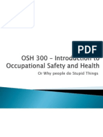 osh 300  introduction - accident myths - present