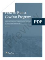 The GovStat Program How-To Guide - Preview