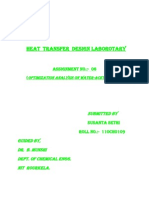 Heat Transfer Design Laborotary-6
