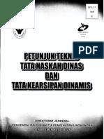 SK DITJEN PP PL HK.03.D5 2007 Ttg Tata Naskah Dinas KKP Dan Lampiran