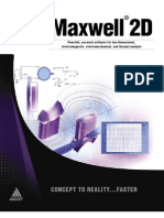 2D Product Sheet 1 Maxwell 2D