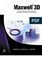 2D Product Sheet 2 Maxwell 3D