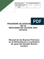Manual de Administracion y Suministro de Agua Del Ganado Bovino Lechero