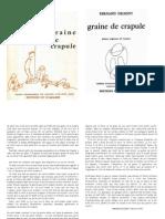 Fernand Deligny - Graine de Crapule