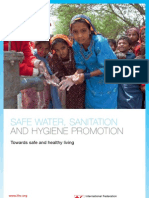 Safe water, sanitation and hygiene promotion