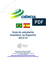 Guia Do Estudante Brasileiro Na Espanha