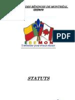 Statuts EBEMON