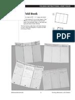 Three Fold Book