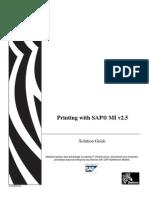 Printing With SAP MI v2.5[1]