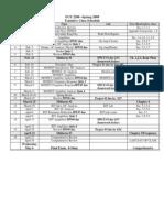 Schedules 09